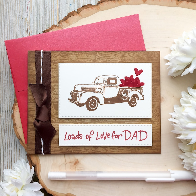 Handmade Birthday Card Father Dads