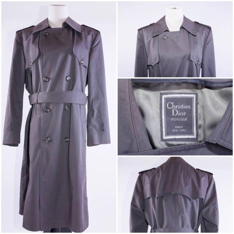 7cfac8f9 Christian Dior Men's Trench Coat