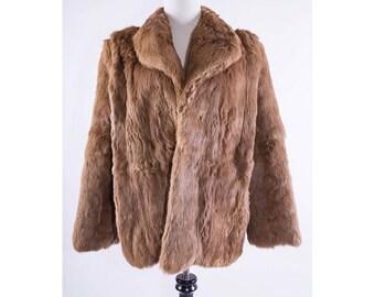 1960's Rabbit Fur Coat