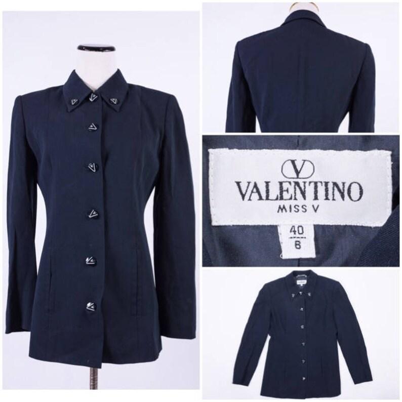Noire Femmes Valentino Miss ManteauEtsy V Des Veste LMGpqSUzV