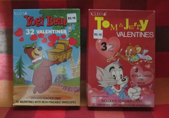 Valentine S Day Cards 32 Pc Boxed Set Choice Of Tom Etsy