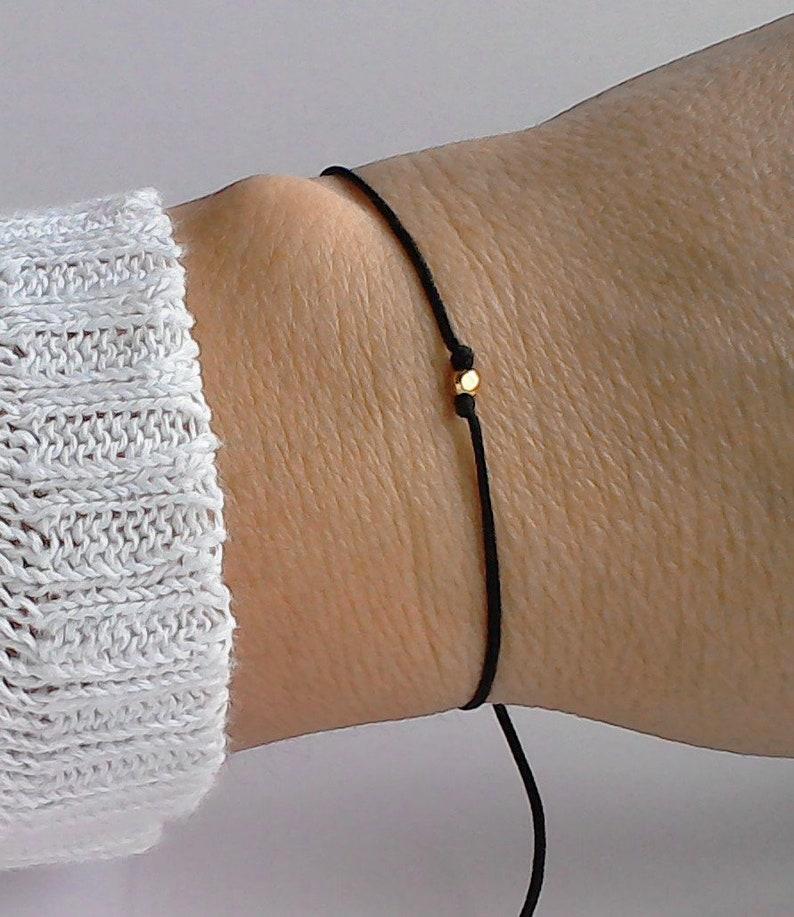 Silver bracelet,Gold bracelet,String bracelet Adjustable anklet,Friendship bracelet,Dainty bracelet,Silver anklet bracelet,Couple bracelet