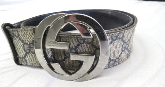 """Vintage GUCCI MONOGRAM Belt 40"""""""