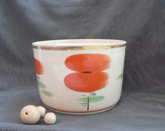 Soviet porcelain Sugar Bowl Made in USSR, Soviet era, Soviet Union