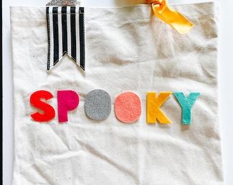 PREORDER rainBOO M/L Trick or Treat Bag | Halloween Bag | Trick or Treat | Halloween Kids Decor | Halloween Decor