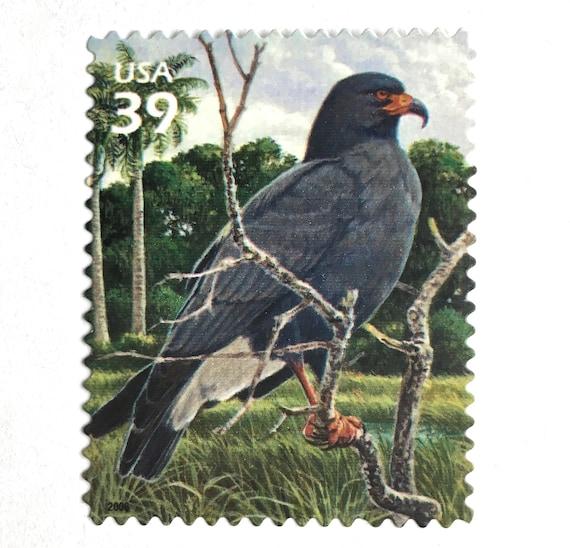 10 Gray Wetland Bird Stamps Unused 39 Cent Postage