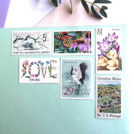 10 papillon monarque toujours des timbres / / / Monarch Butterfly timbres-poste / / / protéger les pollinisateurs / / papillons pour l'envoi de faire-parts 1cf288