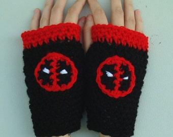 Deadpool Style Handwarmers