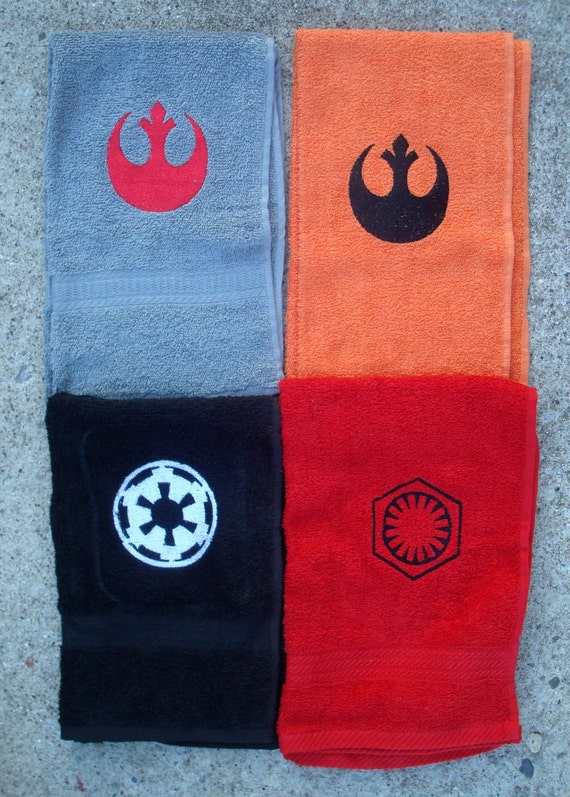 Rebel Empire And New Order Towels Etsy