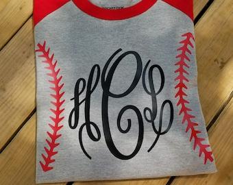 Monogram Baseball Shirt,Baseball Stitches Shirt,Monogram Baseball Tee,Monogram Jersey Tee,Group Discounts,Bridesmaids Shirts,FREE SHIPPING