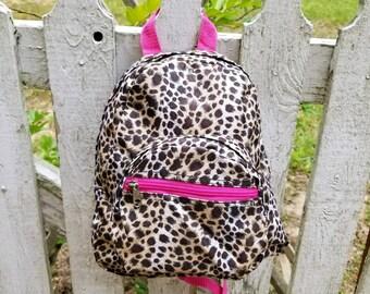 cd3a4c4b0bcd Cheetah backpack | Etsy