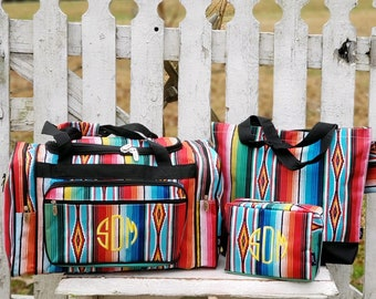 3d14e8ad61d5 Serape Stripe Duffel Bag Set