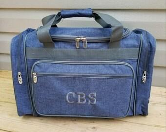 Monogrammed Duffel Bag 664bf8c1e1ca3