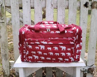 ec71406a70 Elephant duffle bag