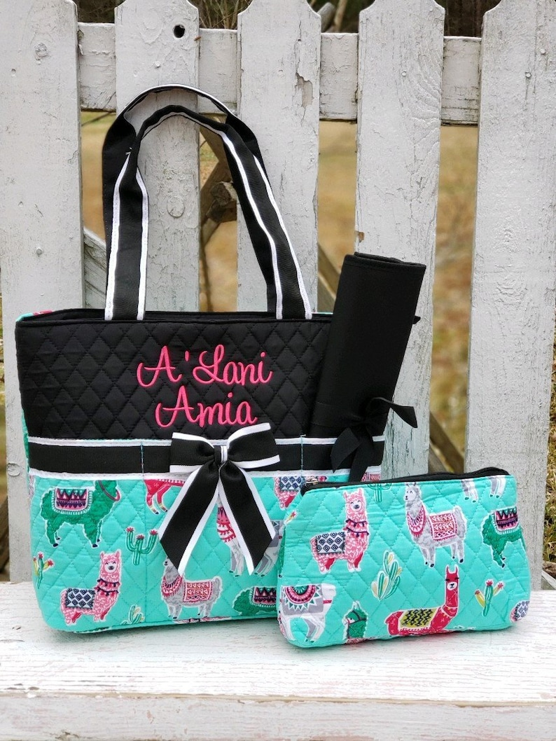 6d624b4d4dbb Llama Diaper bag, Llama Bag, Boys Diaper Bag, Hospital Bag, Girls Diaper  Bag, Personalized Diaper Bag, MONOGRAM-SHIPPING INCLUDED