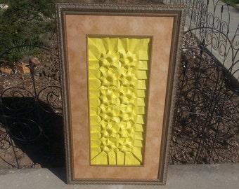 Hobby Lobby Free Origami Wall Art Yellow Dozen