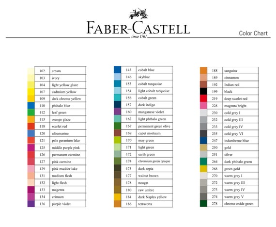 Faber Castell Pitt Artist Brush Tip Pens 60 Colour India Ink Etsy