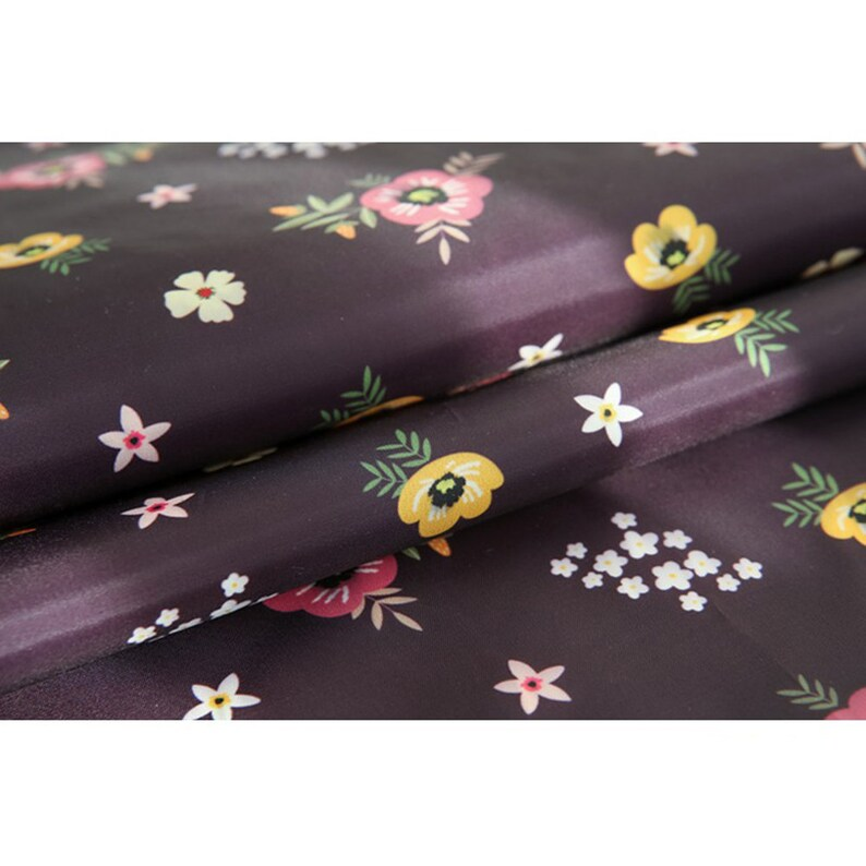 Waterproof Fabric By The Yard For Home Decor Shower Curtain Tablecloth Table Run