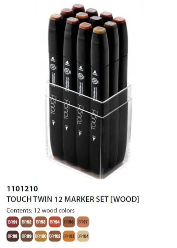 ShinHan Touch Twin Brush Pen Natural Oak BR91