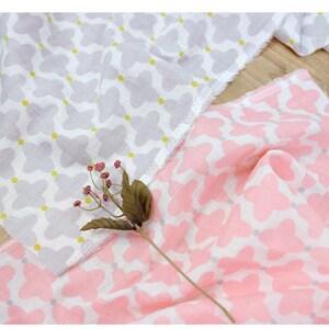 Linen Cotton Gauze Fabric muslin Fabric soft linen gauze 1 yard solid color kddm- KDDM