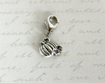 Snowflake Winter Dangle Charm /& Lobster Clasp for Floating Glass Living Memory Lockets