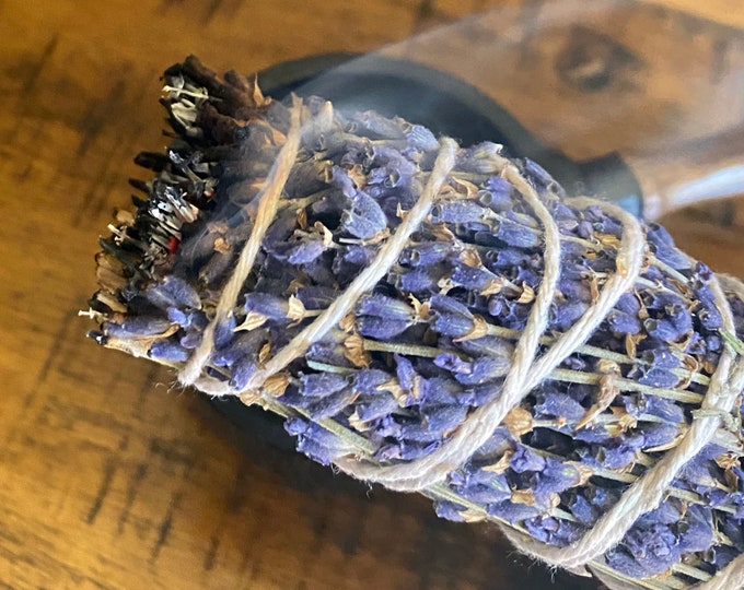 Featured listing image: Lavender Smudge Stick Organic