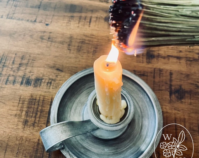 Featured listing image: Witches Whisk Burn Bundle Herb Wand Lavender Smudge Stick
