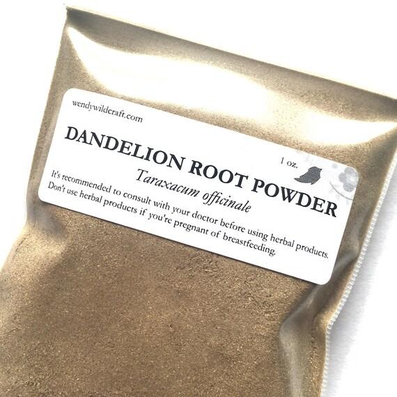 Dandelion Root Powder Organic Raw