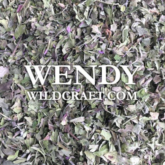 Bee Balm Wild Bergamot Herb Organic