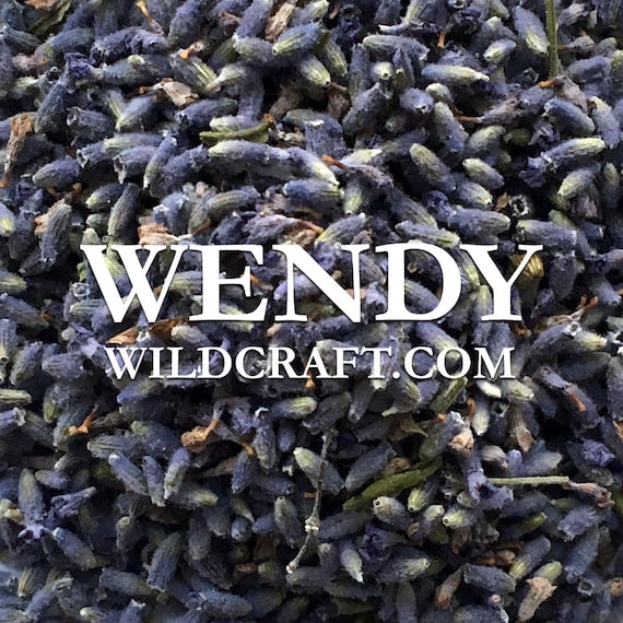 Wicked Blue Lavender Flower Buds Organic