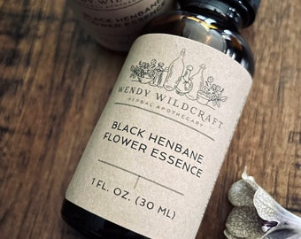 Black Henbane Flower Essence Hyoscyamus niger