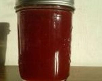 Strawberry Rhubarb Jam Homemade