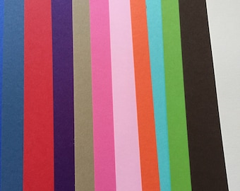 A4 Plain Double Sided 240 GSM card smooth matt acid free various colours purple, pink, green, black, cream, natural 10 sheets supplied