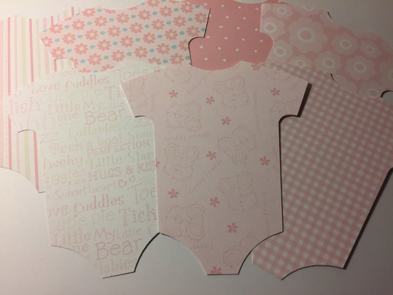 Pink Blue or Yellow patterned card with individual mini wooden pegs and string Elephant Design Baby Bunting for baby showers or new baby
