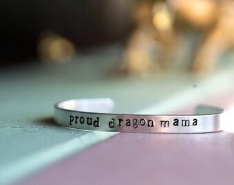 Proud Dragon Mama bracelet