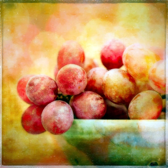 A Bowl of Grapes, Fine Art Photography by John Strong Arts and JStrong Photos.