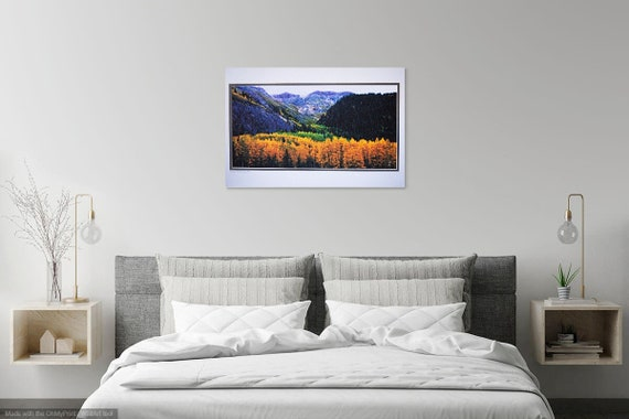 Rocky Mountain Gold, Photo Artistry by JStrong Photos and John Strong Arts.  Autumn Aspens in the San Juan Mountains of Colorado