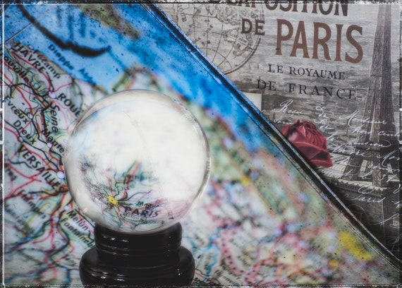 I See Paris in Your Future, Fine Photo Artistry, Fine Art Photography by John Strong Arts/JStrong Photos - set your sights on Paris!