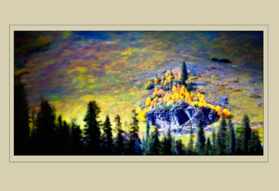 Fine Art Photography, Oasis, John Strong Arts, JStrong Photos, Rocky mountains in the fall, Wall Decor, Home Decor, Office Decor