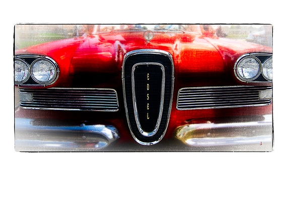 1958 Edsel, by John Strong Arts and JStrong Photos, direct downloads for immediate print out. Perfect for home and office.