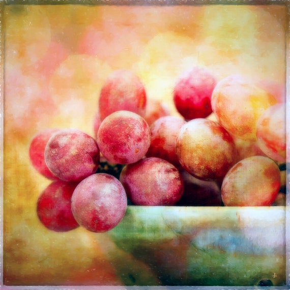 A Bowl of Grapes, by John Strong Arts and JStrong Photos, direct downloads for immediate print out. Perfect for home and office.
