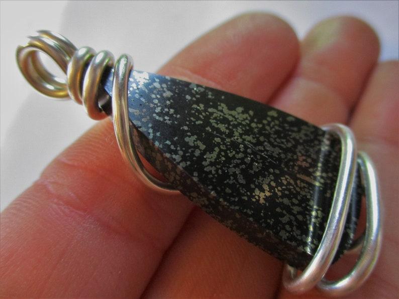 Shungite with Pyrite Pendant  Shungite Pendant  Pyrite Pendant  Shungite Necklace  Shungite Jewelry  CLEANSING  DETOX
