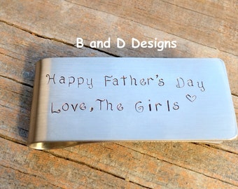 Perfect Father's Day money clip - Father of the Bride - Groom