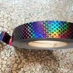 Black Serpent Tape | Tape Roll, Hoop Tape, Deco Tape, Craft Tape, Special Tape, Rainbow Tape, Lure Tape, Gymnastic, Hula Hoop, Nail Art