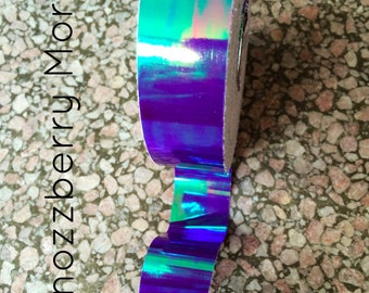 Tape   Shnozzberry Morph Hoop Tape   Best Tape, Purple Morph, Deco Tape, Blue Color Change, Hoop Tape, Craft Tape   Specialty Quality Tape