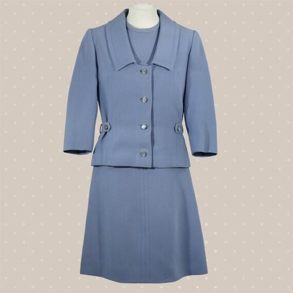Light-blue woman suit