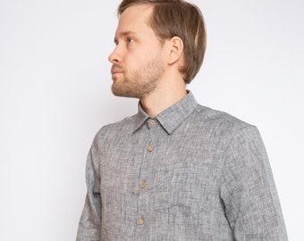 39a2f1861c Classic Linen Mens Shirt