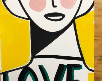 A4 Print. Love #2 (166)