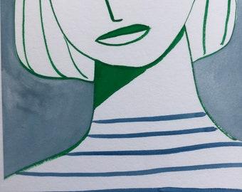 Girl in blue (235) A4
