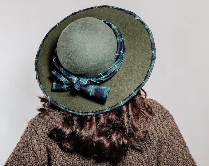 Floppy hat, wool felt hat women, women felt hat, wide brim hat, winter hat, personalized gift, classic wide hat, felted hat